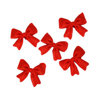 "Bows- 1.5"" - Red (12 per box)"