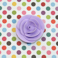 "1"" Small Classic Royal Icing Rose - Lavender (10 per box)"