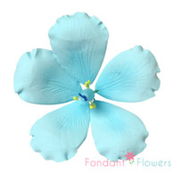 """3.5"""" Hibiscus - Scuba Blue (Sold Individually)"""