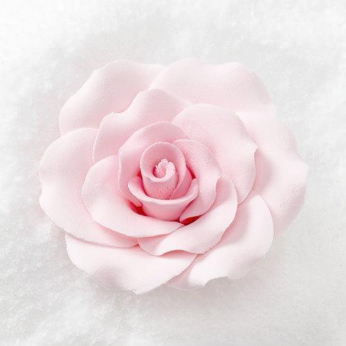 3 Formal Rose Blush Pink Sold Individually Fondantflowers