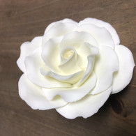 """3.5"""" Exquisite Rose - Ivory (Sold Individually)"""