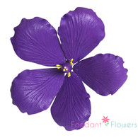 """3.5"""" Hibiscus - Purple (Sold Individually)"""