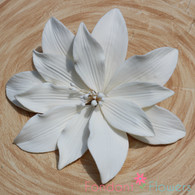 "5"" Water  Lily - Large - White (Sold Individually)"