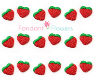 Royal Icing Strawberries (24 per box)
