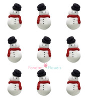 Royal Icing Snowmen (24 per box)