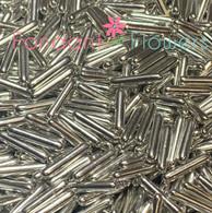 Metallic Silver Rods