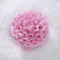 "1-1/2"" Royal Icing Carnation - Medium - Pink (10 per box)"