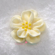 "1"" Royal Icing Dainty Bess Rose - Small - Ivory (quanity 20)"