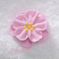 "1"" Royal Icing Dainty Bess Rose - Small - Pink (quanity 20)"