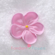 "1-1/2"" Royal Icing Forget-Me-Not - Medium - Pink (20 per box)"