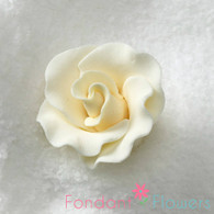 "1-1/2"" Formal Rose - Ivory (Set of 3)"