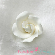 "1-1/2"" Formal Rose - White (Sold Individually)"