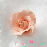 "1-1/2"" Formal Rose - Peach (Set of 3)"