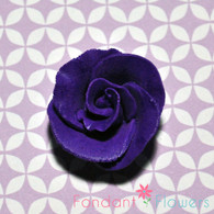 "1-1/2"" Formal Rose - Purple (Sold Individually)"