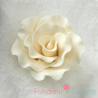"""2"""" Formal Rose - Ivory (Set of 3)"""