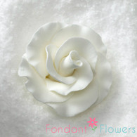 "2"" Formal Rose - White (Set of 3)"