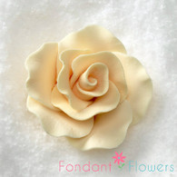 "2"" Formal Rose - Cream (Sold Individually)"