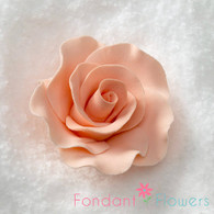 "2"" Formal Rose - Peach (Set of 3)"