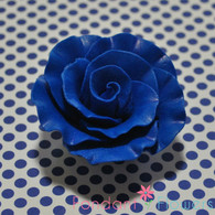 "2"" Formal Rose - Royal Blue (Set of 3)"