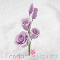 "2-1/2"" Rose Filler - Mini - Lavender (Sold Individually)"