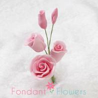"2-1/2"" Rose Filler - Mini - Pink (Sold Individually)"