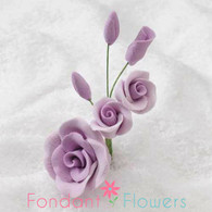 "3"" Rose Filler - Small - Lavender (Sold Individually)"