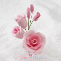 "3"" Rose Filler - Small - Pink (Sold Individually)"