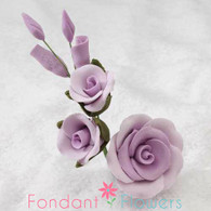 "3-1/2"" Rose Filler - Medium - Lavender (Sold Individually)"