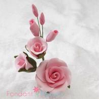 "3-1/2"" Rose Filler - Medium - Pink (Sold Individually)"