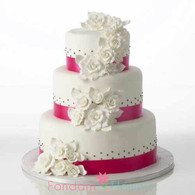 Elegant Gardenia Cake Kit