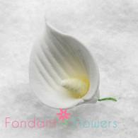 """1"""" Calla Lily - Petite - White (10 per box)"""