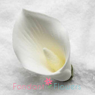 "2-1/8"" Calla Lily - Medium - White (Sold Individually)"