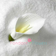 "3.5"" Calla Lily w/o Wire - Large - White (Sold Individually)"