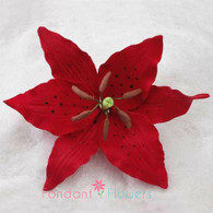 "4"" Red Lily (Sold Individually)"