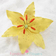 "4"" Yellow Lily (Sold Individually)"