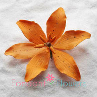 "4"" Tiger Lily - Orange (Sold Individually)"