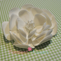"5"" Dahlia Orchid - White (Sold Individually)"