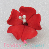 "1.25"" Fruit Blossom - Red (10 per box)"