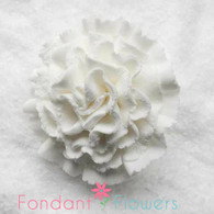 "1.75"" Carnation - Large - White (Sold Individually)"