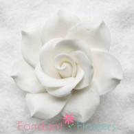 "2"" Gardenia - Medium - White (Sold Individually)"