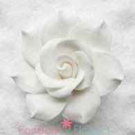 "2 1/2"" Gardenia - Large - White (Sold Individually)"