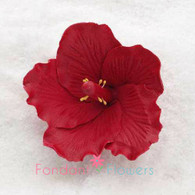 "2.5"" Hibiscus - Small - Red (Sold Individually)"