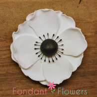 "3.25"" Anemone - White (Sold Individually)"