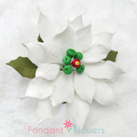 "3.5"" Poinsettia - Medium - White (Sold Individually)"