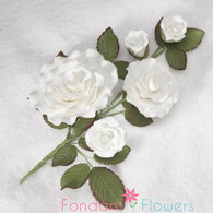 "7"" Formal Rose Bunch"