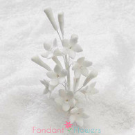 "3.5"" Petite Stephanotis Filler - All White"