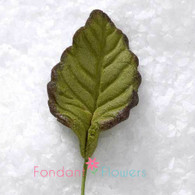 "3/4"" Rose Leaves - Mini - Green w/ Wire (10 per box)"