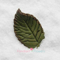 "1.75"" Rose Leaves - Medium - Green (10 per box)"