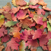 "1.75"" Autumn Leaves - Med/Lg - Realistic Assorted (24 per box)"
