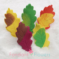 "1.75"" Oak Leaves - Small - Assorted w/ Wire (10 per box)"
